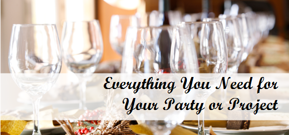Everything You Need for Your Party or Project | Dinnerware